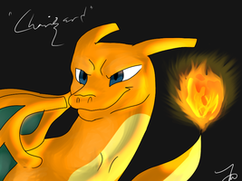 Charizard that I am not proud of and almost hate by AutumLeavesofFall