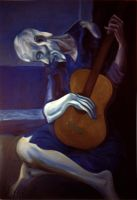 Picasso's Blind Guitarist by yFyArt