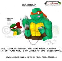 TMNT Crack Comic - ...Wii Fap by nichan