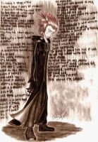 Axel - loneliness that shows by Silverspegel