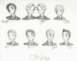 Sketch: The Windsor Boys by everyday-dream