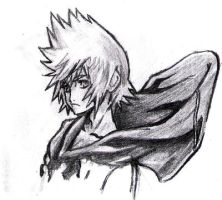 Roxas WIP by nothing111111
