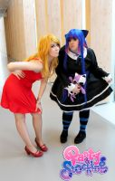Panty and Stocking - Double Trouble by CherryMemories