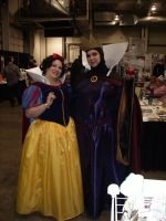 SCEE 2014 Snow White and the Evil Queen by QTZephyr