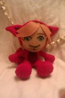 PewDiePie - Bloody Trapland Plush by AliceOfTheRose