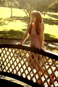 Girl on the Bridge by riccardo-avocado