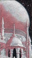 Rose Colored Mosque by MKSchmidt
