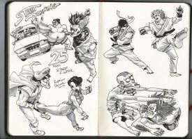 Street Fighter 25 anos by superpascoal