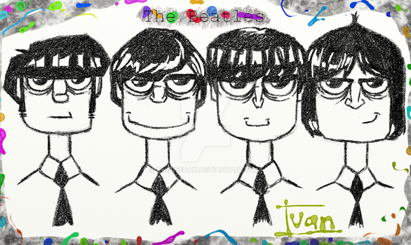The Beatles by ThisisEBAN