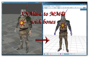 Converting XPS to MMD with bones by Tokami-Fuko