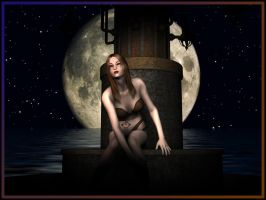 Moonlight - DS-Penguin by backgrounds
