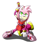 Amy rose boom by ultimatewino