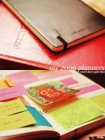 The 2009 Planners by sp1nderella