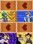 Yugioh the Dark Side of Dimensions Valentines by slifertheskydragon