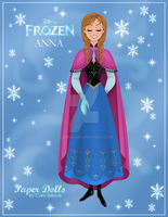 Anna Paper Doll Preview by Cor104