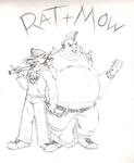 Rat and Mow by T-Bird1