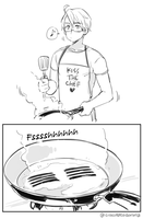 Cooking Bacon by Cioccolatodorima