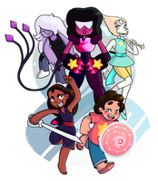 We Are the Crystal Gems! by GH0NNY