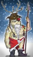 Post Mayan Apocalypse Santa Claus by j0epep
