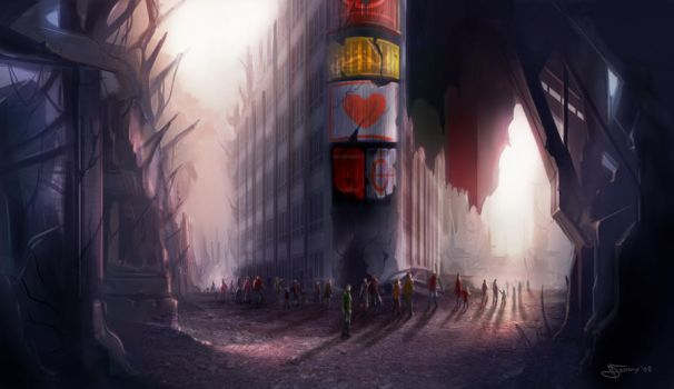 city aftermath by Narcot