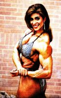 Bodybuilder Tricia Side Chest by rorydnumber2