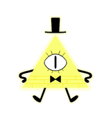 Bill Cipher b/c why not I guess by heroes-of-thedas