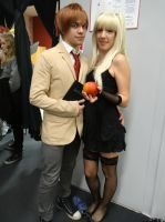 Light and Misa (Death Note) by Groucho91