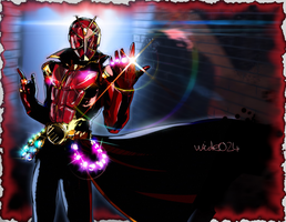 Kamen Rider Wizard by wide024