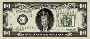 George Bush Novelty Currency by vectorgeek