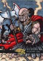 Ares God of War by tonyperna