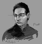 FLINT from the Shadowfell series by miss-a-r-t