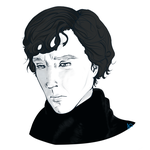 Sad Sherlock by Ikuchira