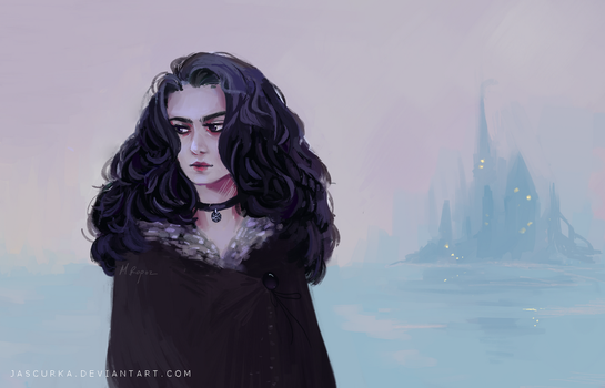 Yennefer by Jascurka