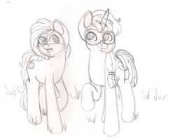 The Apple Cousins Sketch by Wildnature03