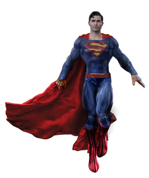 Tyler Hoechlin Superman Transparent by Spider-maguire