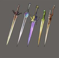 Weaponry set 100 by Random223
