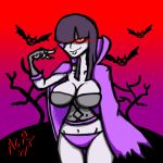 Day four Vampire girl by Cudegar