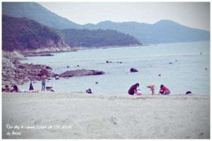 The Beach - Lamma Island by without-name