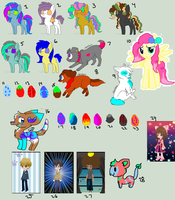 Unsold Adopts - ALL MUST GO! OPEN by Blooxi