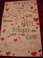 Love is A Sickness Poster by socialchameleon369