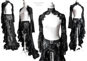 black lace outfit, by Somnia Romatica by SomniaRomantica