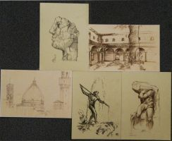 Sketches of Florence 2 by kUkara4