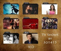 TV Shows Folder Icons by 3o1415