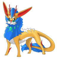 Eeveeloution: Dragon-Type Drakeon by GaelicKitsune