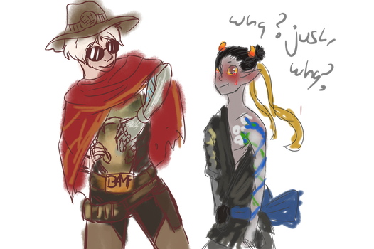McHanzo is the overwatch vesion of Davekat by T3rrorT1ts
