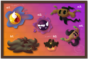 PKMNation - Ghostly Clutches (CLOSED) by Piranha2021