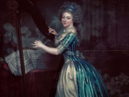 The Harpist by RafkinsWarning