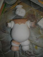 Stay Puft 2 by PortraitSculptor