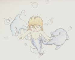UNDER TEH SEA by IX-Demyx-IX