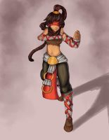 Lee sin gender bender by Hamzilla15
